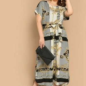 Dresses & Skirts - Plus size summer belted dress
